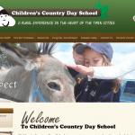 Childrens Country Day School in Mendota Heights, MN website design screenshot