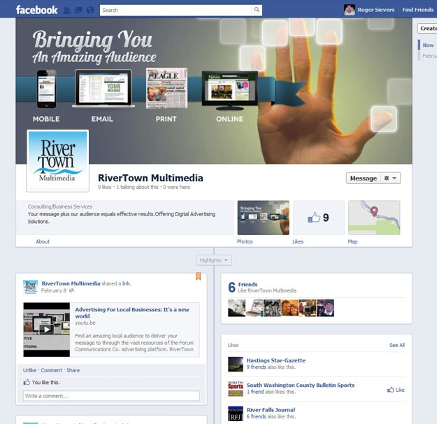 Digital Advertising and Marketing Facebook COver Photo