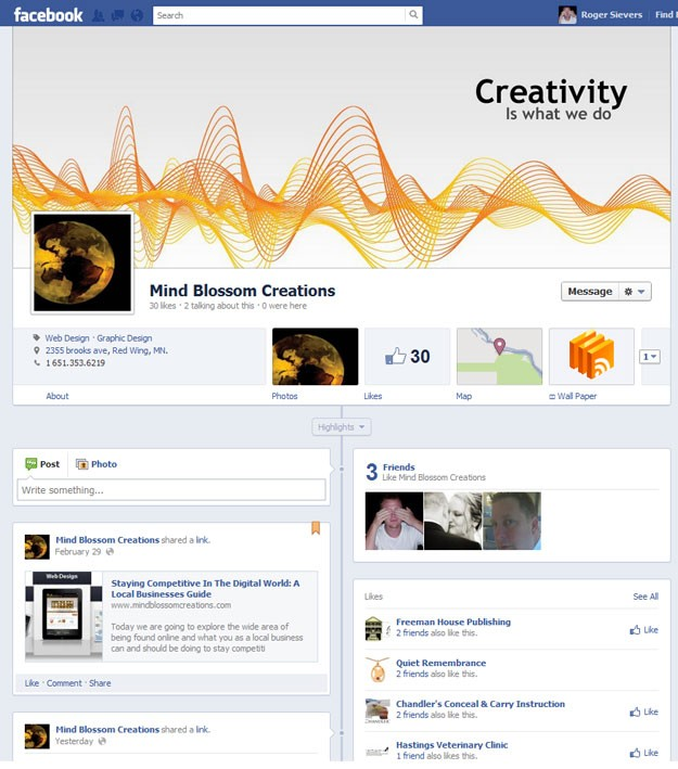 Facebook Marketing Cover Photo