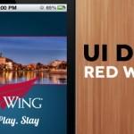 Red Wing MN App UI Design