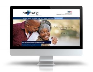 nanohealth usa ecommerce website