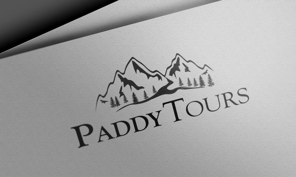 Paddy Tours Logo Design