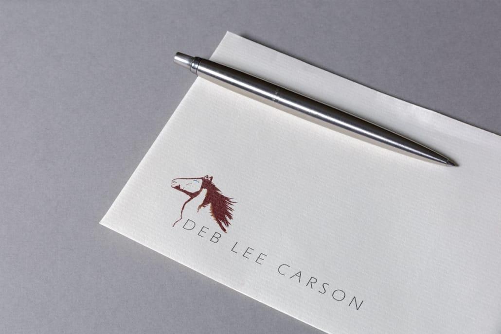 Deb Lee Carson Logo Design
