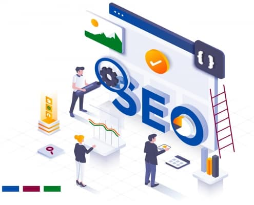 Sievers Creative - SEO Search Engine Optimization Graphic