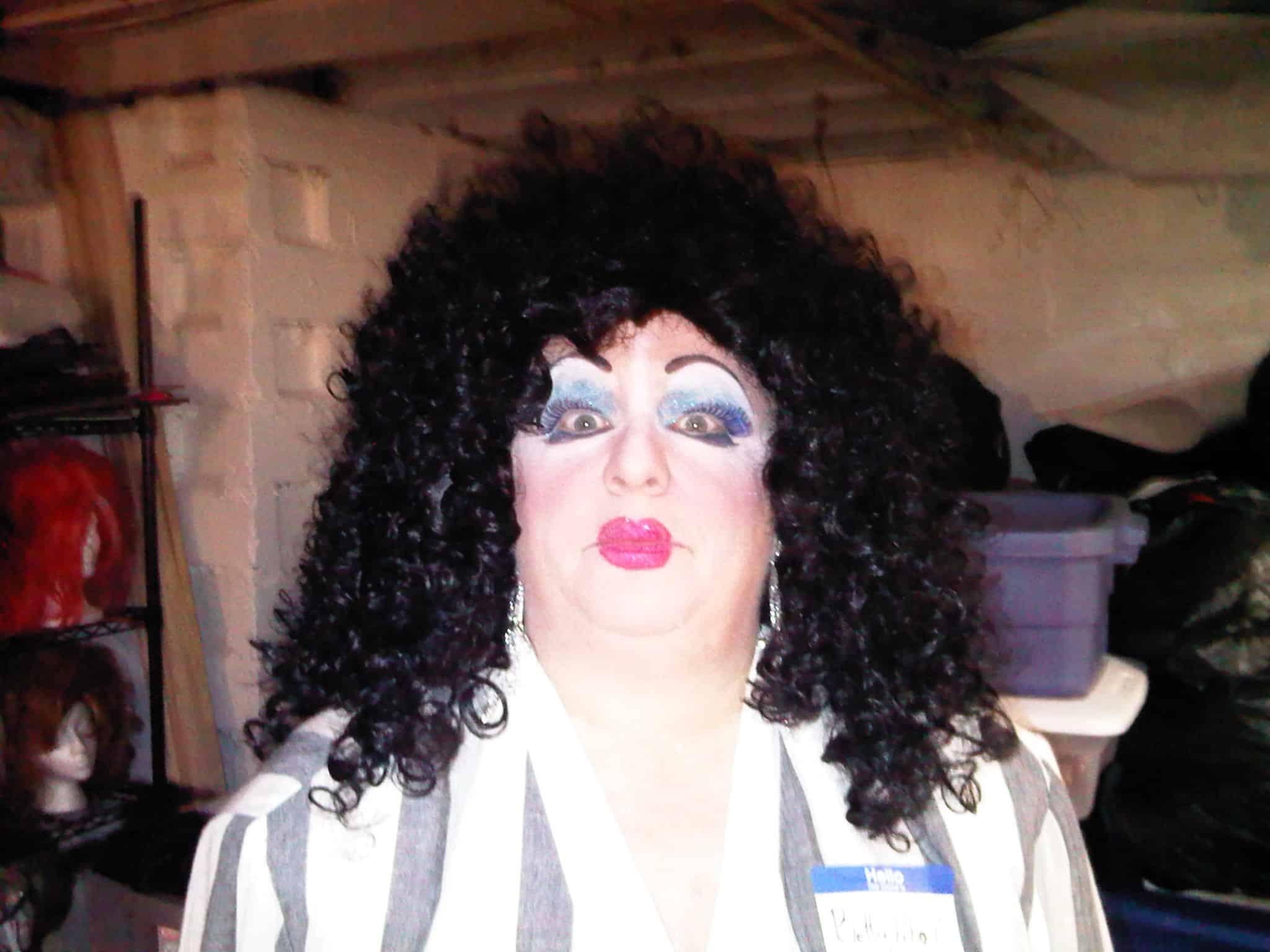 Nancy at Halloween